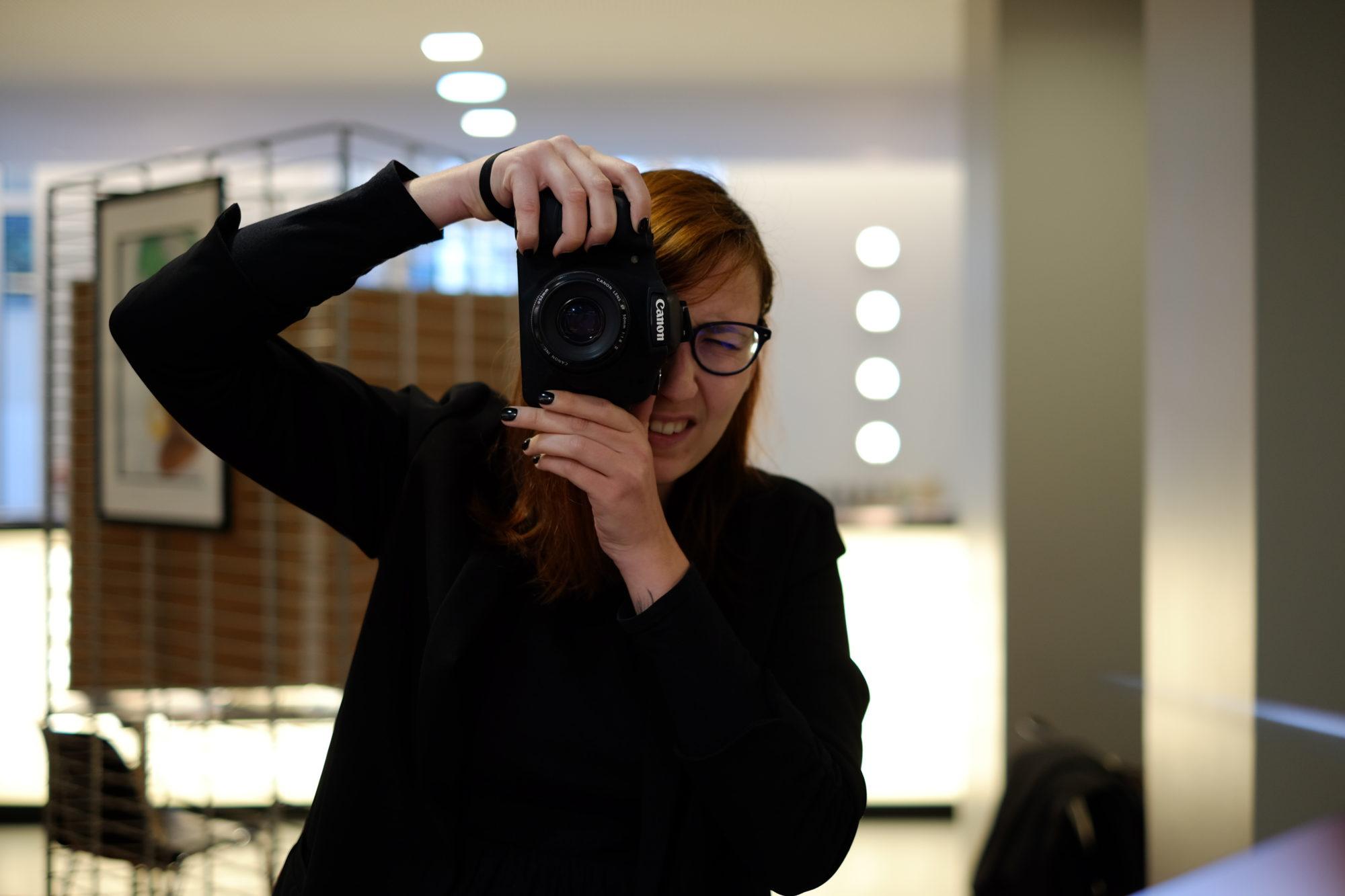 juliette shoote en Canon