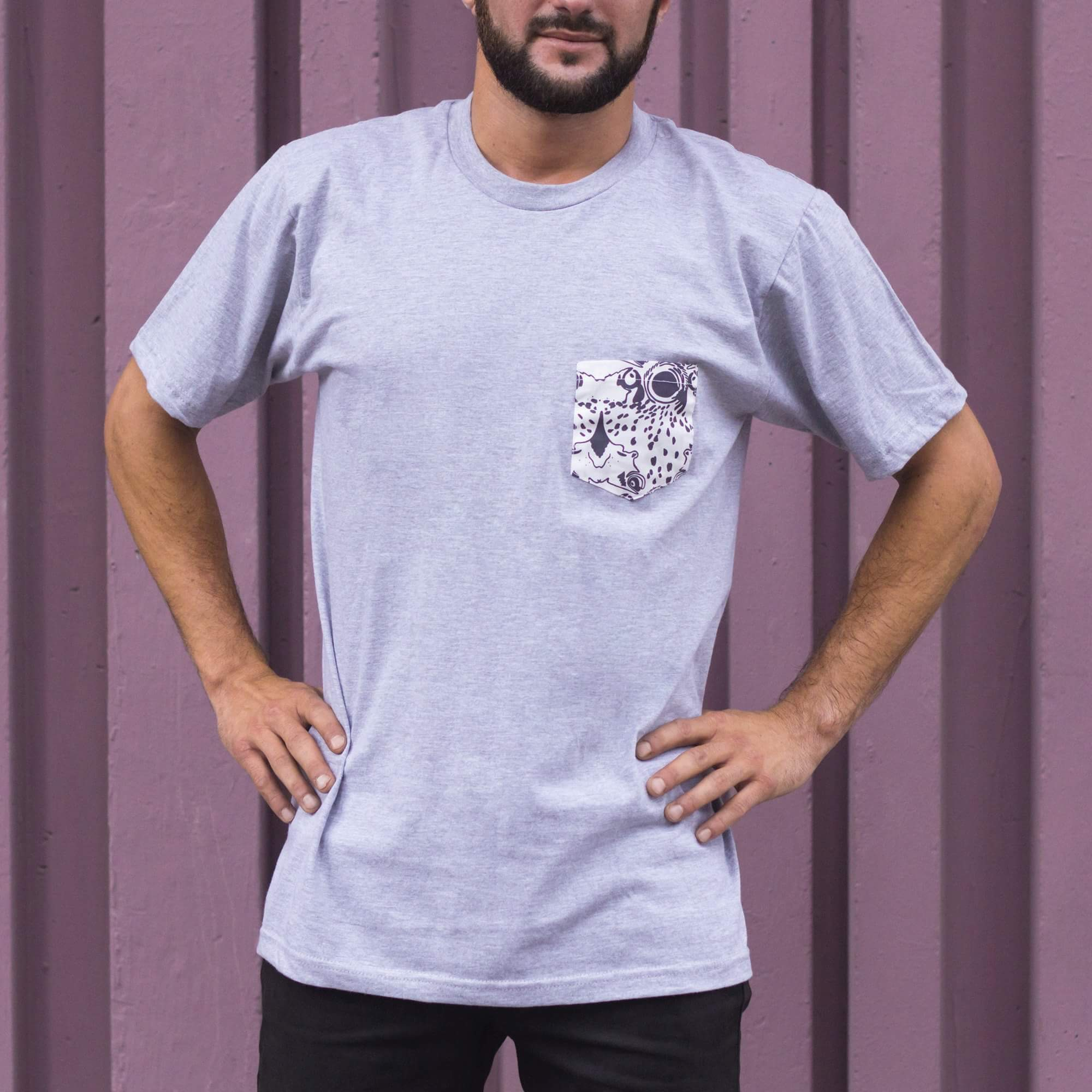 LaureMjoy - T-shirt gris clair